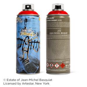 MTN Edición Limitada Jean-Michel Basquiat Rojo Vivo