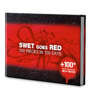 SWET GOES RED 100 PIECES IN 100 DAYS
