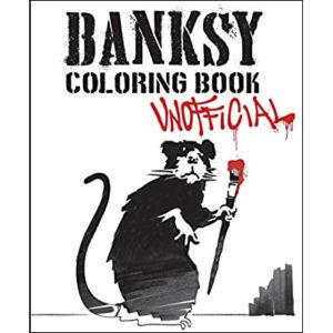 Banksy Coloring Book Unofficial