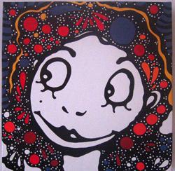 """Werens i Matilda a ImpaktesVisuals Del 13 de desembre del 2007 al 9 de gener del 2008  """"Vine a treure el cap"""" Després de tres anys compartint el seu art amb artistes de tot el pais a la seva particular galeria, els propis pomotors d'aquest projecte artístic, Werens i Matilda, es donen la mà per unir les seves obres en una mateixa exposició sota el nom """"vine a treure el cap"""", convidant així a tots els assidus i als que no a entrar en aquest espai artístic i a participar en el dia de la inauguració."""