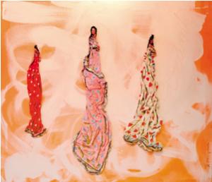 Exposició Antoni Moyano del 3 al 25 de novembre de 2005 Entre el pla i la dimensió ens apareixen figures i composicions moldejades per l'artista menorquí, una proposta que amplia l'espai del basitdor. L'artista menorquí Antonio Moyano després de recórrer diverses tècniques artístiques com el realisme, el naïf, el col.lage,.. desde adolescent, actualment ha arribat a desenvolupar una manifestació plàstica que té l'ambició de trencar l'espai delimitat pel bastidor, i per tant prendre un volum respecte el pla. Es tracta de composicions que combinen el fons decoratiu amb el primer pla en volum protagonitzat per figures femenines. A l'espai d'art Impaktes Visuals (Sant Francesc, 15) podrem veure una sel.lecció de les obres d'Antonio Moyano del 3 al 25 de novembre.