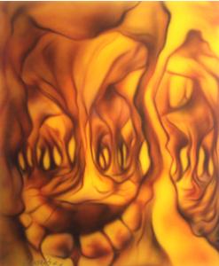 """D-Andres Exposició: """"Organikus"""" del 2 al 30 de Juny del 2005"""