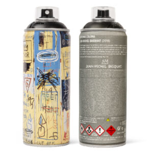 Jean-Michael Basquiat Negro Mate