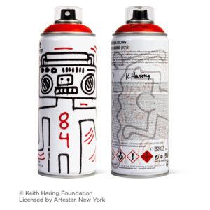 MTN Edición Limitada Keith Haring Rojo Vivo