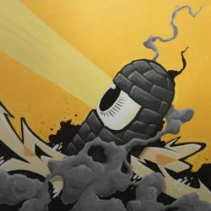 """del 4 al 27 de febrer de 2010 Grafftastics és la demostració de que és possible l'enteniment quan hi ha diàleg. Els membres de l'associació d'escriptors de graffiti que dóna nom a l'exposició, han acceptat l'encàrrec de treballar una obra en la que es reflecteixi la seva visió personal del color-concepte """"amarillo medio"""""""