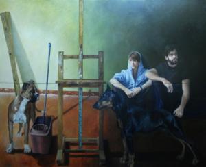 Els retrats de Led que fa de personatges del seu entorn, dels nostres dies, contemporanis, son per ell una mostra del descobriment que mica en mica va fent del món. Paletes estretes de colors i molta composició espaial; deixa penetrar aire entre els personatges estudiant així una bona ambientació. Les influències més directes com a artista auto-didàctic de les que s'ha alimentat són grans pintors com Caravaggio, Velázquez, Sorolla, Fortuny, Hopper, Barceló... i un llarg etcétera.