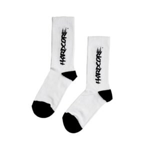 MTN Socks Hardcore blanco