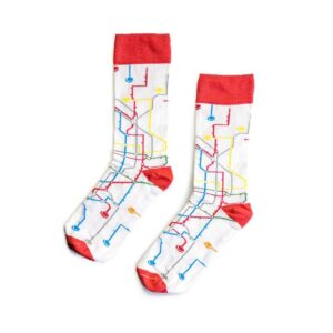 MTN Socks Metro blanco